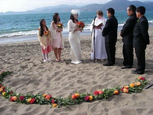 We witness weddings